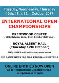 International Open Championships 2017