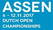 Dutch Open Assen 2017