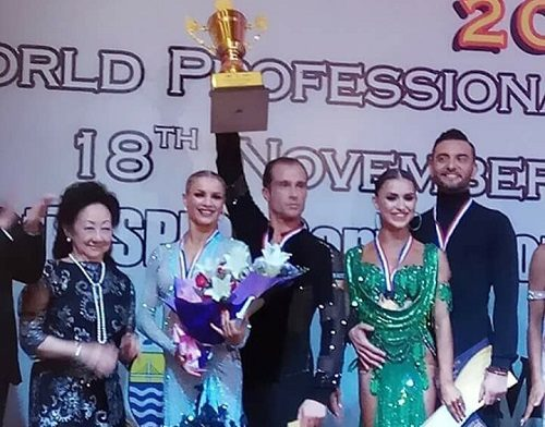 WDC World Latin 2017 Champions