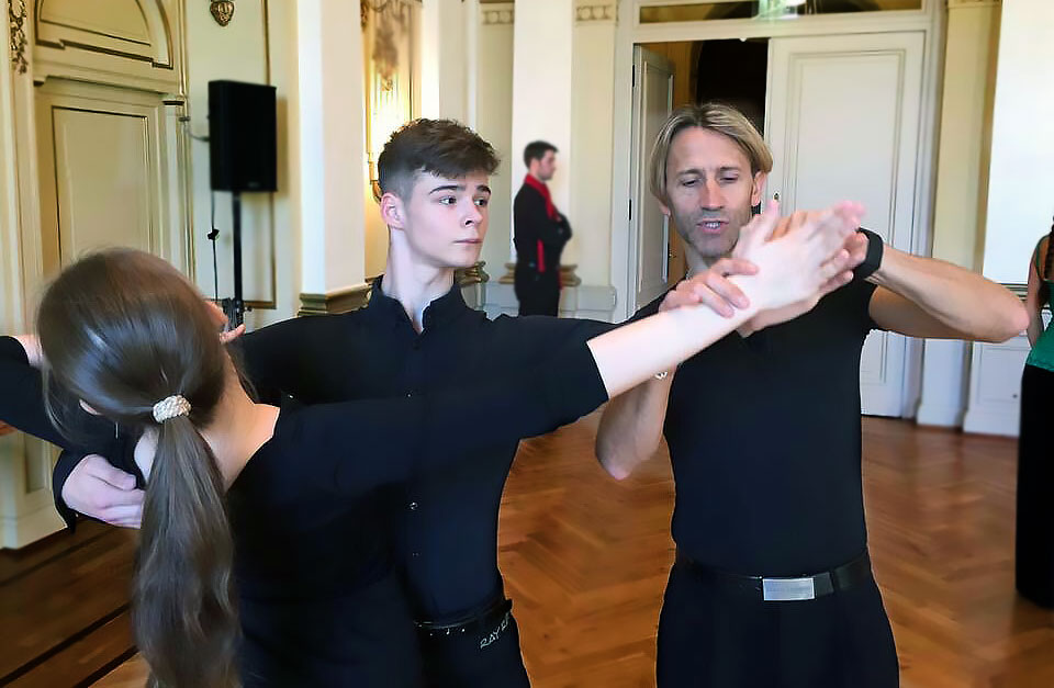 Privat lesson in ballroom dancing